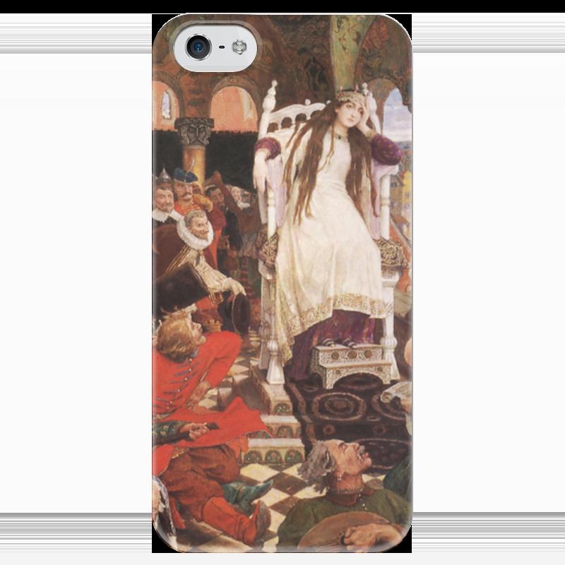 Чехол для iPhone 5 глянцевый, с полной запечаткой Printio Царевна-несмеяна виктор васнецов минувших дней печаль и радость набор репродукций