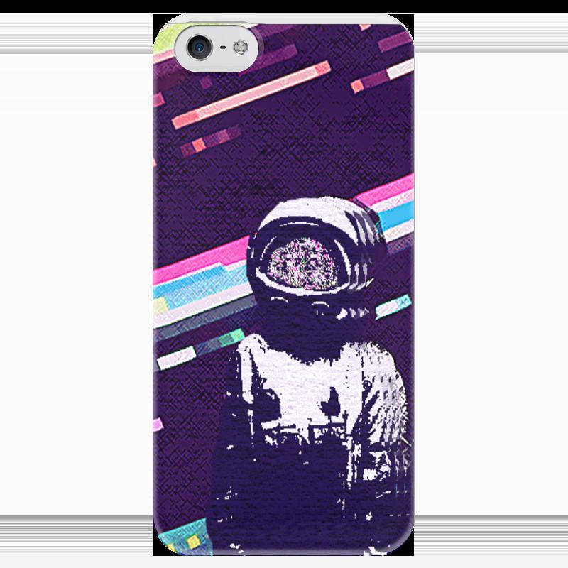 Чехол для iPhone 5 глянцевый, с полной запечаткой Printio Кмт-brand