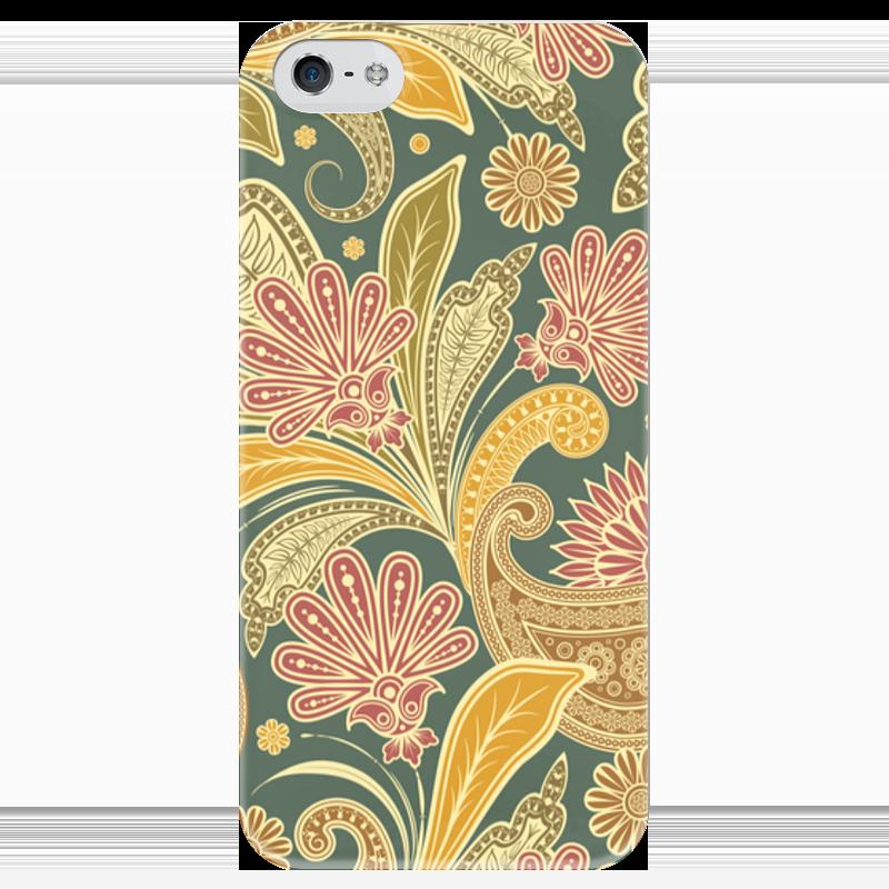Чехол для iPhone 5 глянцевый, с полной запечаткой Printio Цветочный чехол для iphone 6 глянцевый printio цветочный