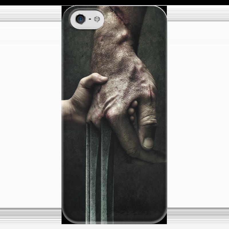 Чехол для iPhone 5 глянцевый, с полной запечаткой Printio Логан чехол для iphone 5 глянцевый с полной запечаткой printio пилот