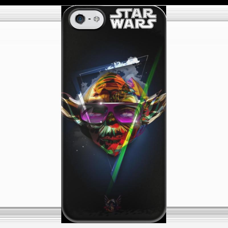 Чехол для iPhone 5 глянцевый, с полной запечаткой Printio Star wars - звездные воины - мастер йода чехол для iphone 5 глянцевый с полной запечаткой printio star wars звездные войны