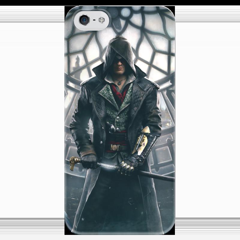 Чехол для iPhone 5 глянцевый, с полной запечаткой Printio Assassin's creed syndicate