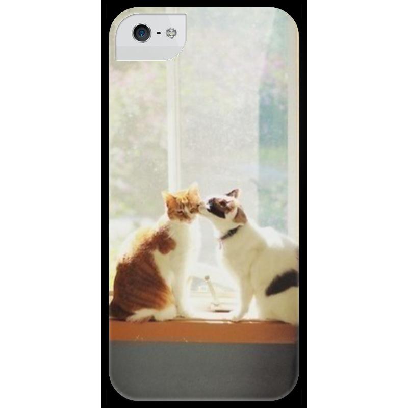 Чехол для iPhone 5 глянцевый, с полной запечаткой Printio cats чехол для iphone 5 глянцевый с полной запечаткой printio zayn malik