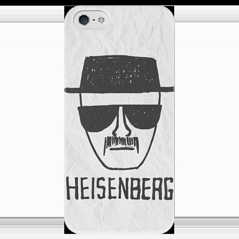 Чехол для iPhone 5 глянцевый, с полной запечаткой Printio Heisenberg чехол для iphone 4 глянцевый с полной запечаткой printio бэтмен