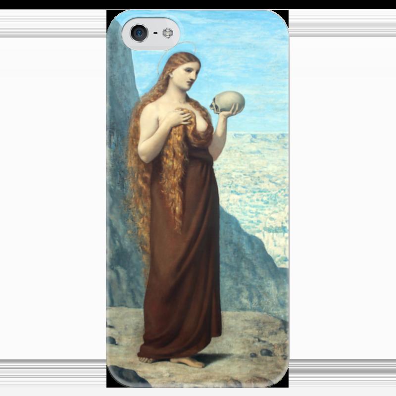 Чехол для iPhone 5 глянцевый, с полной запечаткой Printio Мария магдалина в пустыне чехол для iphone 5 глянцевый с полной запечаткой printio влюбленные пьер огюст ренуар