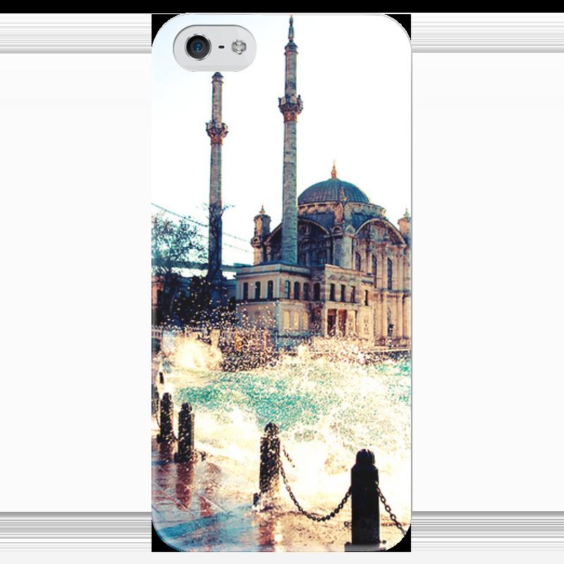 Чехол для iPhone 5 глянцевый, с полной запечаткой Printio Мечеть чехол для iphone 5 глянцевый с полной запечаткой printio ember spirit dota 2