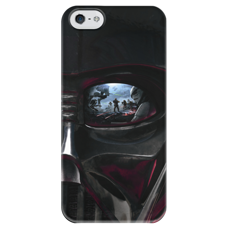 Чехол для iPhone 5 глянцевый, с полной запечаткой Printio Звездные войны чехол для iphone 5 глянцевый с полной запечаткой printio star wars звездные войны