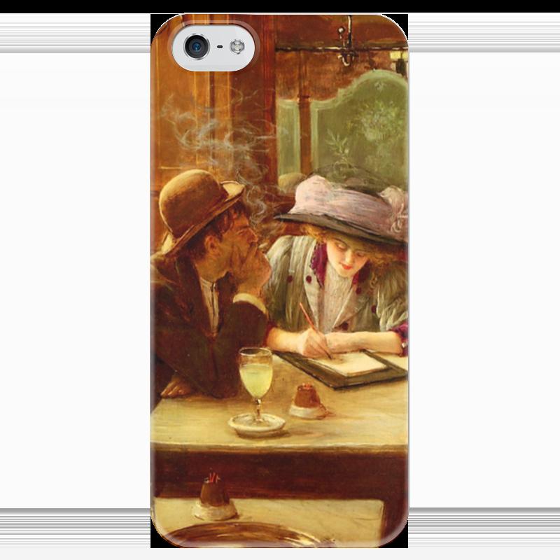 Чехол для iPhone 5 глянцевый, с полной запечаткой Printio Письмо (жан беро) салонный фильтр мазда демио dy3w