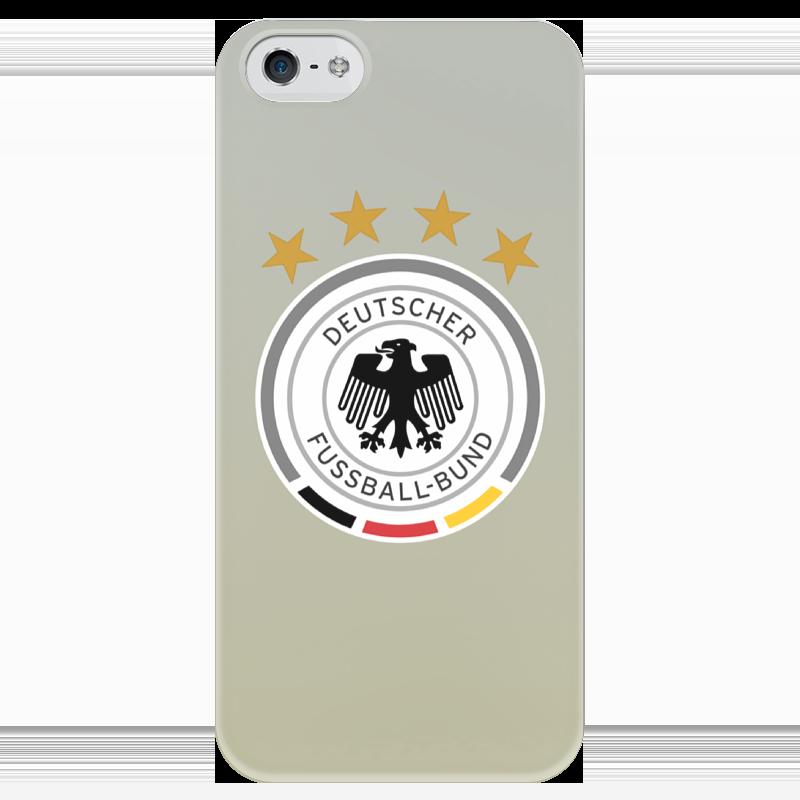 Чехол для iPhone 5 глянцевый, с полной запечаткой Printio Германия чехол для iphone 5 глянцевый с полной запечаткой printio эфиопка