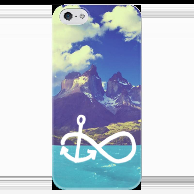 Чехол для iPhone 5 глянцевый, с полной запечаткой Printio Летний дизайн чехол для iphone 6 глянцевый printio летний сад