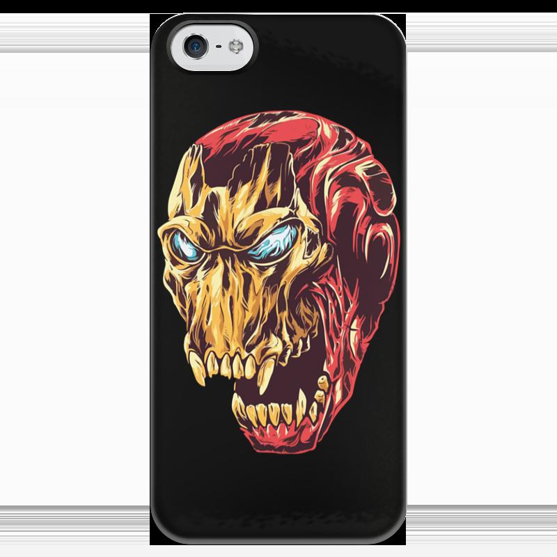 Чехол для iPhone 5 глянцевый, с полной запечаткой Printio Ironman / железный человек iclebo arte ironman edition