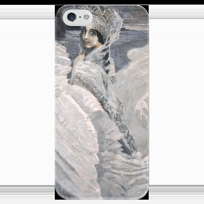 Чехол для iPhone 5 глянцевый, с полной запечаткой Printio Царевна-лебедь (картина врубеля) набор для творчества creative creative набор для творчества веселое мыловарение
