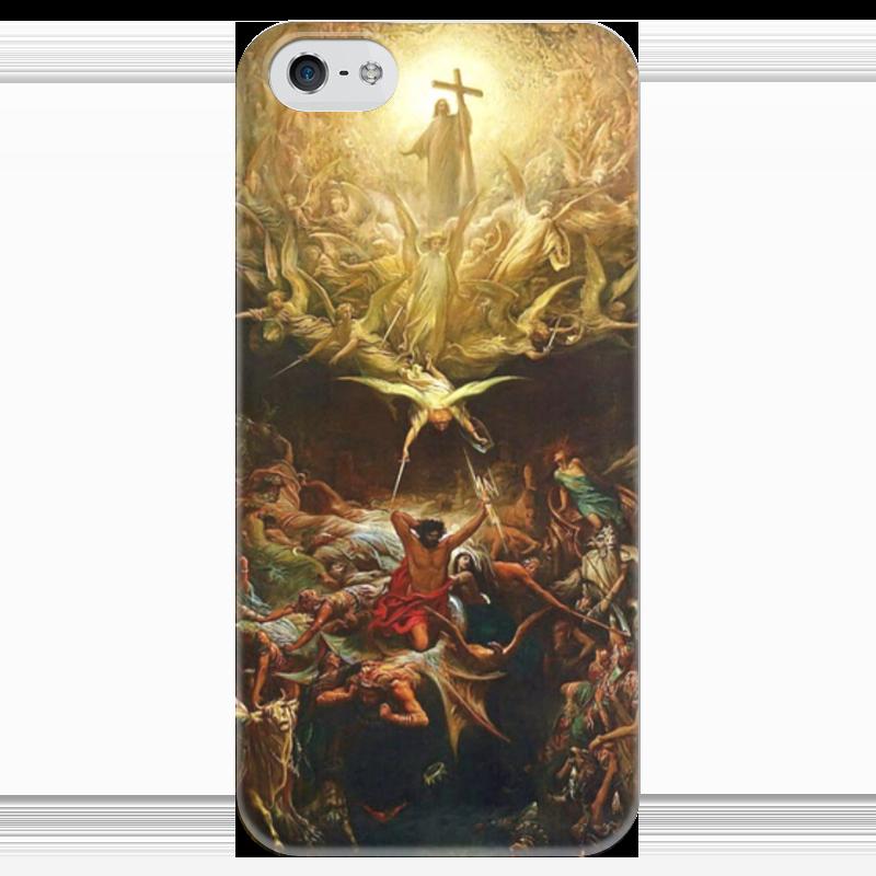 Чехол для iPhone 5 глянцевый, с полной запечаткой Printio Триумф христианства над язычеством футболка с полной запечаткой printio зов поль гоген