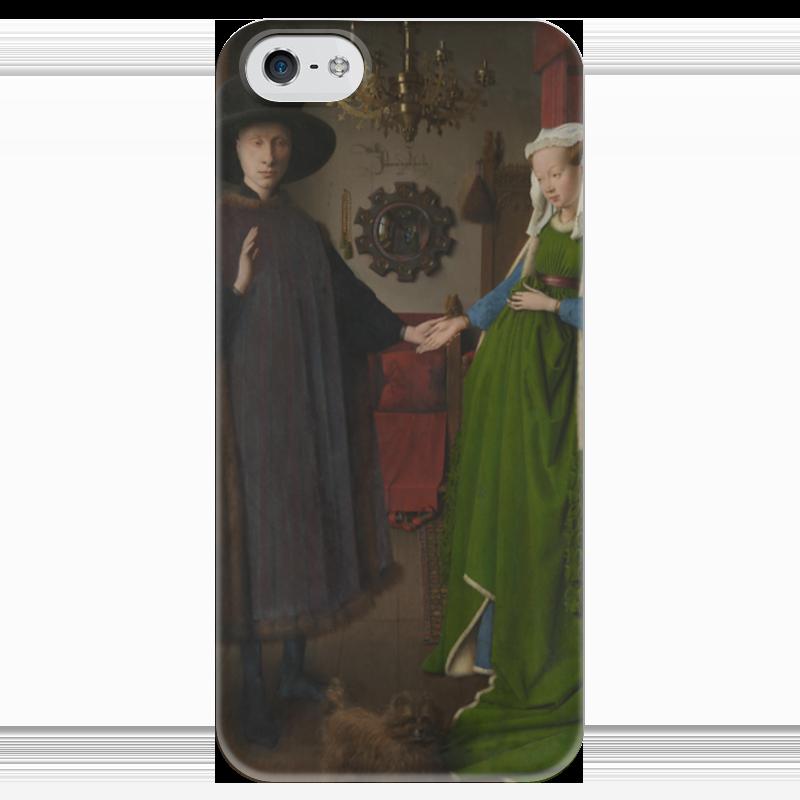 ян ван эйк Чехол для iPhone 5 глянцевый, с полной запечаткой Printio Портрет четы арнольфини (ян ван эйк)