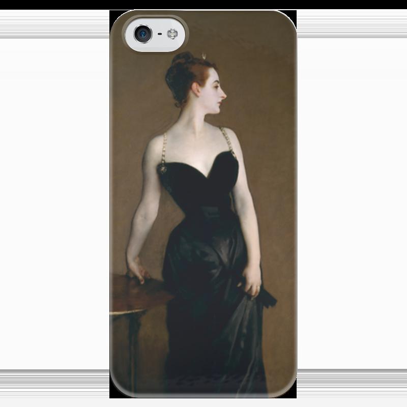 Чехол для iPhone 5 глянцевый, с полной запечаткой Printio Портрет мадам икс чехол для iphone 5 глянцевый с полной запечаткой printio икс 23 лора кинни
