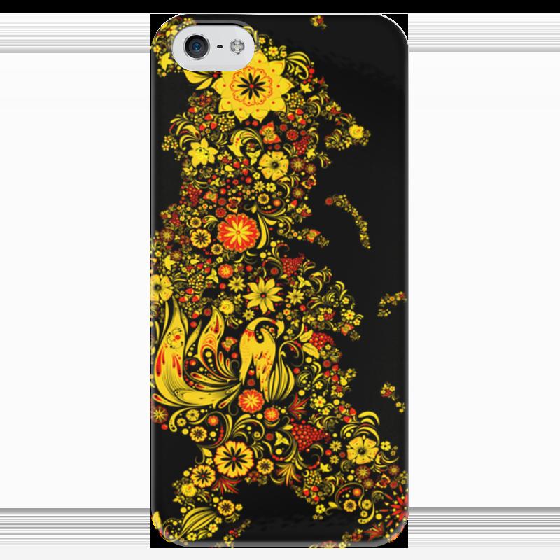 Чехол для iPhone 5 глянцевый, с полной запечаткой Printio Russia чехол для iphone 5 глянцевый с полной запечаткой printio zayn malik