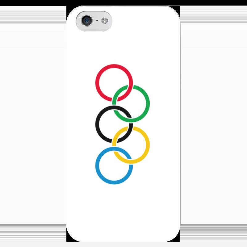 Чехол для iPhone 5 глянцевый, с полной запечаткой Printio Олимпиада чехол для iphone 5 глянцевый с полной запечаткой printio ember spirit dota 2