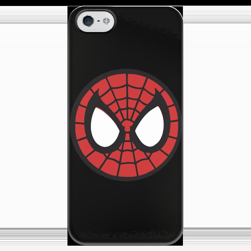Чехол для iPhone 5 глянцевый, с полной запечаткой Printio Spider-man / человек-паук чехол для iphone 6 глянцевый printio человек муравей ant man