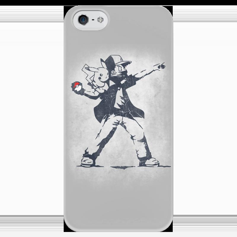 Чехол для iPhone 5 глянцевый, с полной запечаткой Printio Покемон чехол для iphone 5 глянцевый с полной запечаткой printio ember spirit dota 2