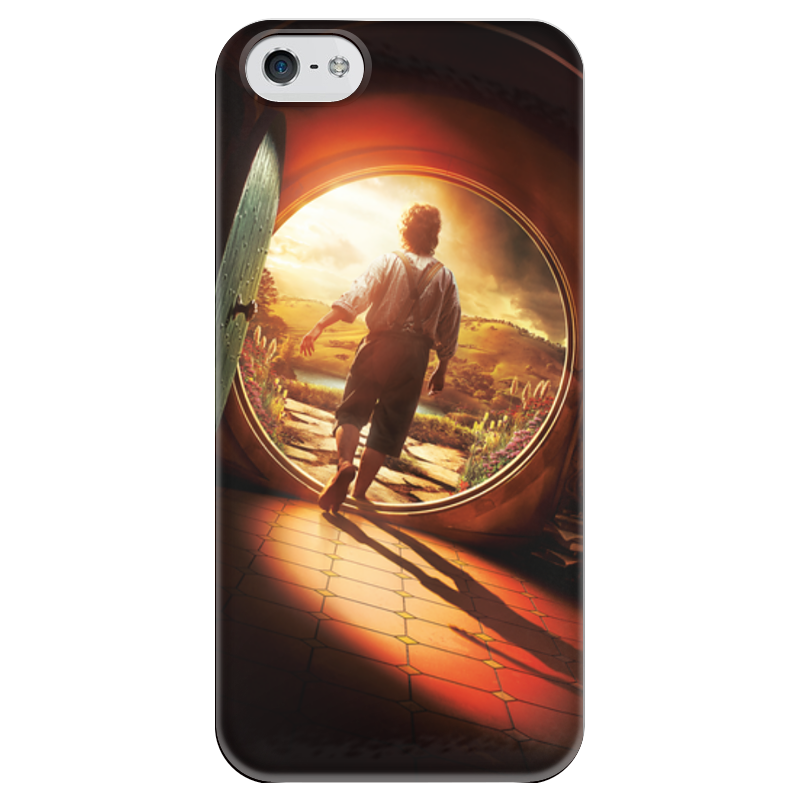 Чехол для iPhone 5 глянцевый, с полной запечаткой Printio Хоббит чехол для iphone 5 глянцевый с полной запечаткой printio ember spirit dota 2