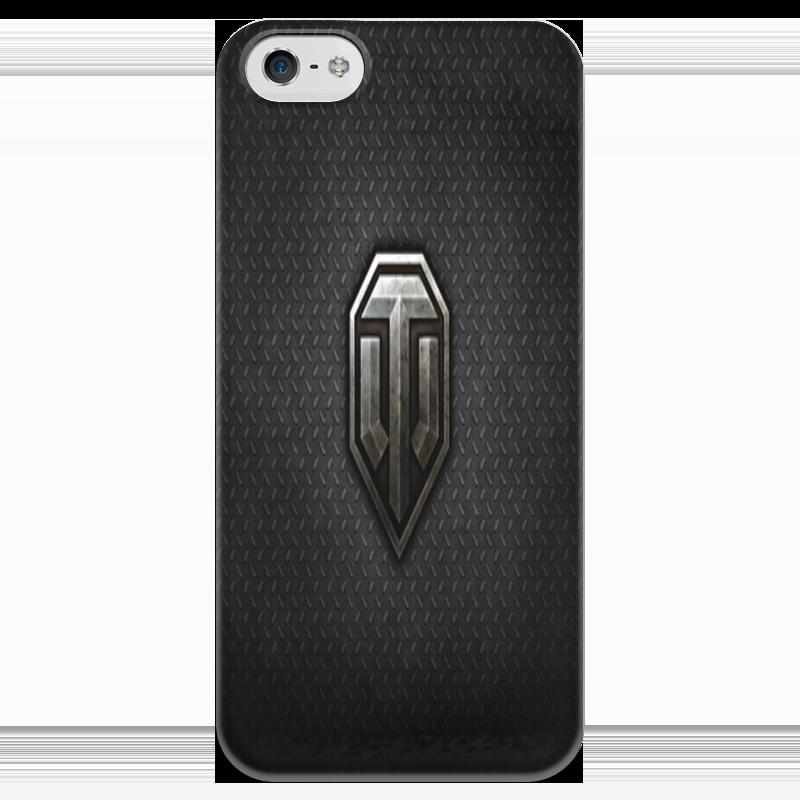 Чехол для iPhone 5 глянцевый, с полной запечаткой Printio Танки чехол для iphone 5 глянцевый с полной запечаткой printio эфиопка