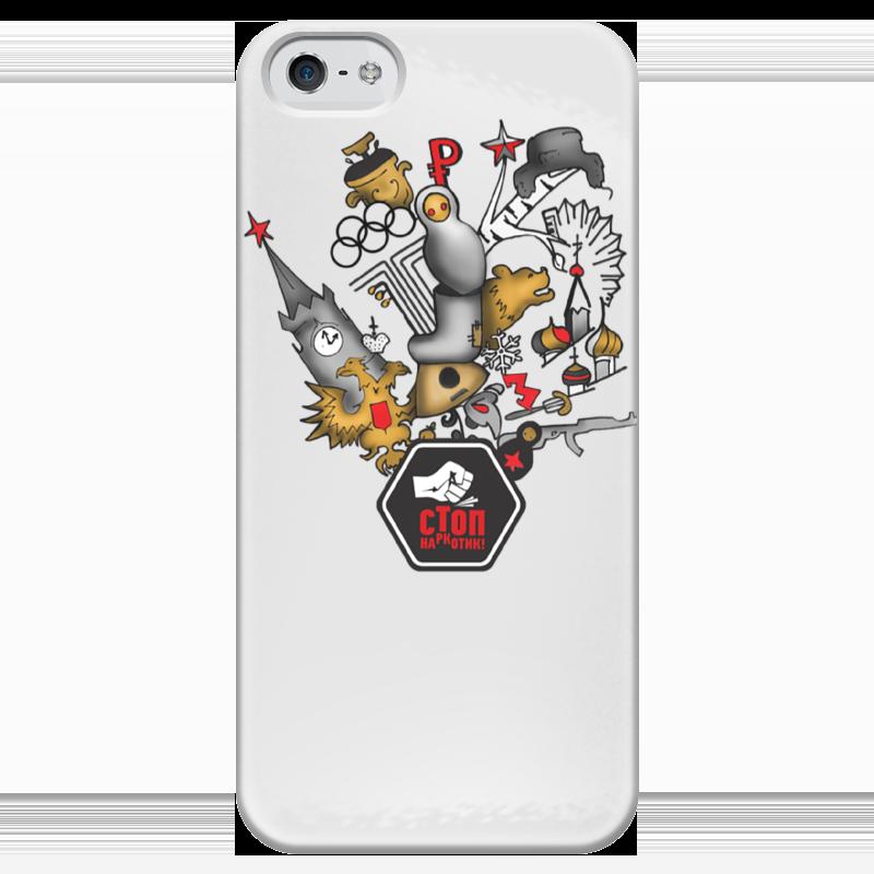 Чехол для iPhone 5 глянцевый, с полной запечаткой Printio Стопнаркотик special edition ninja 300 special edition