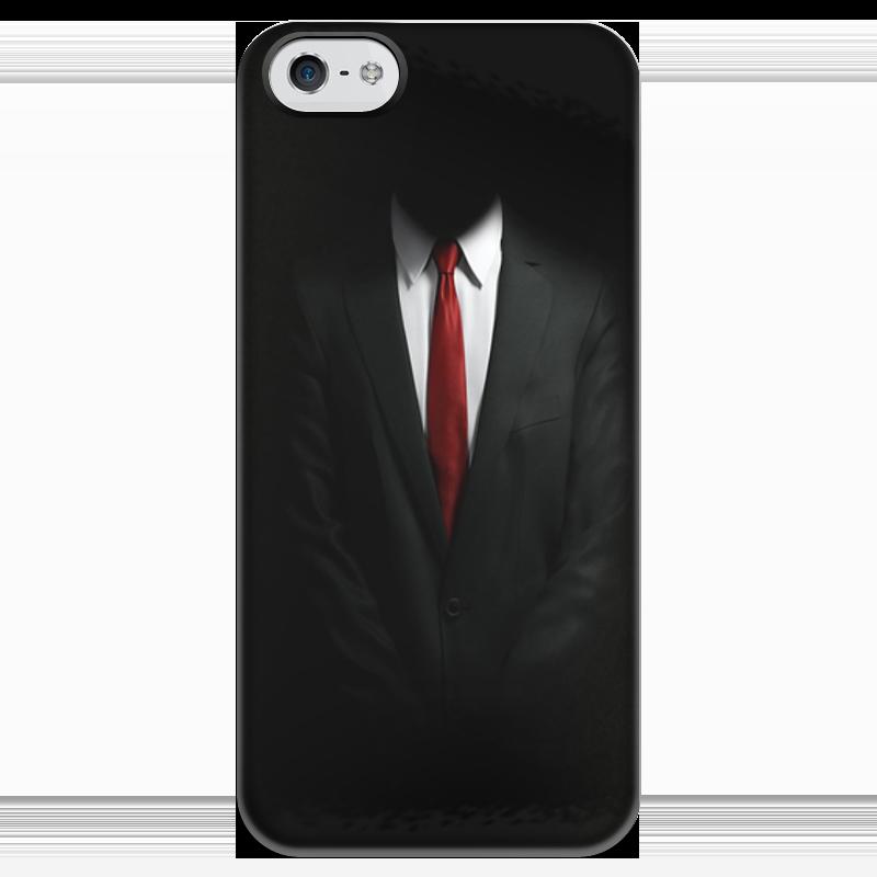Чехол для iPhone 5 глянцевый, с полной запечаткой Printio Hitman видеоигра для ps4 hitman