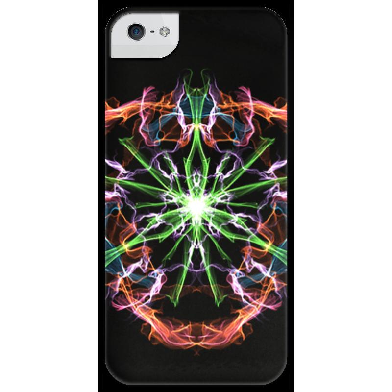 Чехол для iPhone 5 глянцевый, с полной запечаткой Printio Pulse of universe стоимость