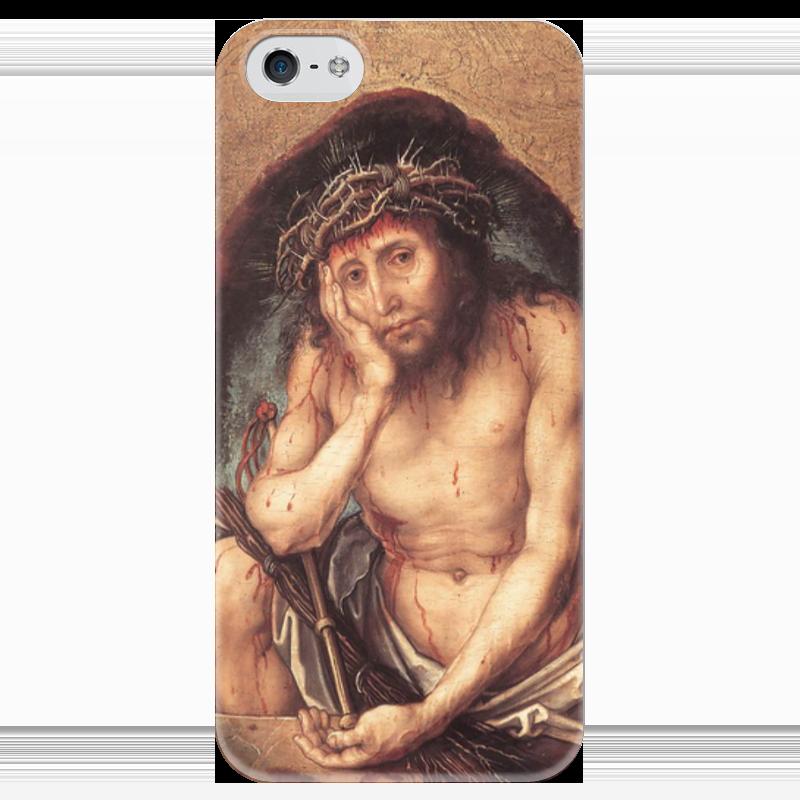 Чехол для iPhone 5 глянцевый, с полной запечаткой Printio Се, человек (ecce homo) копия се х12 в сумах