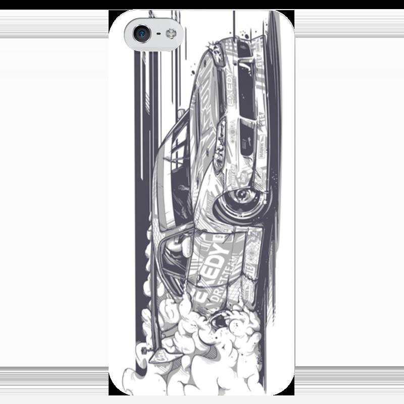 Чехол для iPhone 5 глянцевый, с полной запечаткой Printio Nissan silvia s15