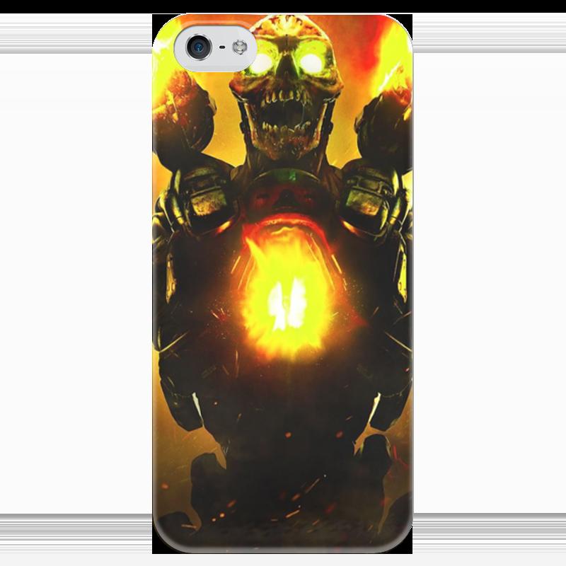 Чехол для iPhone 5 глянцевый, с полной запечаткой Printio Doom 4 чехол для iphone 4 глянцевый с полной запечаткой printio штурмовик