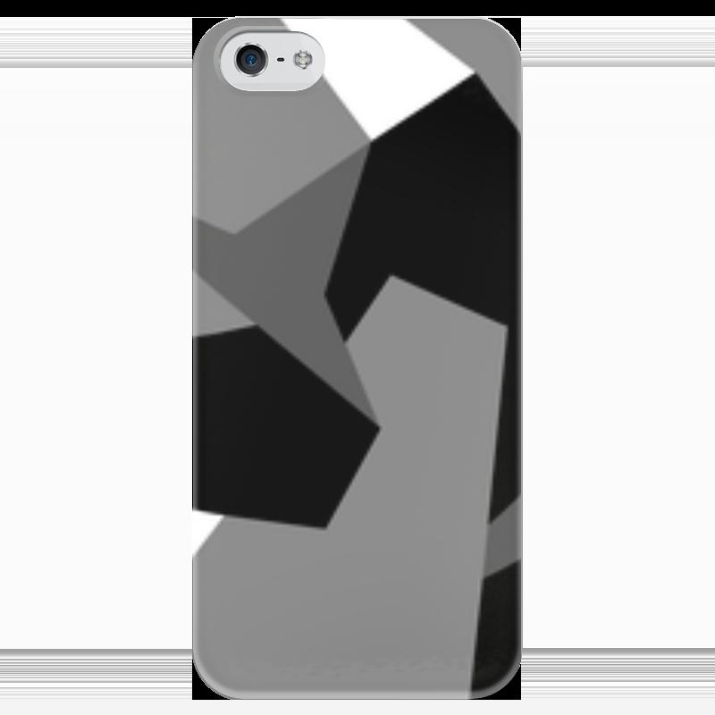 Чехол для iPhone 5 глянцевый, с полной запечаткой Printio М-90 dark чехол для iphone 4 глянцевый с полной запечаткой printio эфиопка