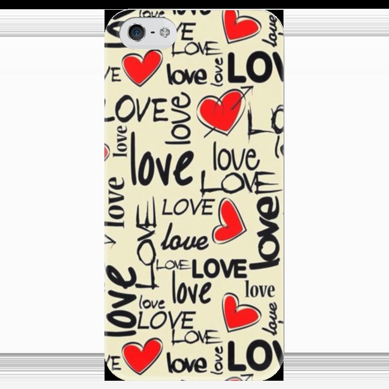 Чехол для iPhone 5 глянцевый, с полной запечаткой Printio Любовь чехол для iphone 5 глянцевый с полной запечаткой printio любовь