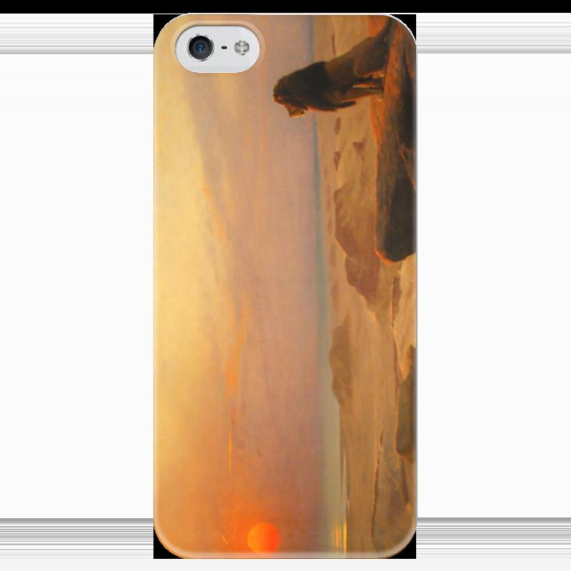 Чехол для iPhone 5 глянцевый, с полной запечаткой Printio Два величества (жан-леон жером) чехол для iphone 5 глянцевый с полной запечаткой printio последняя молитва христианских мучеников жером