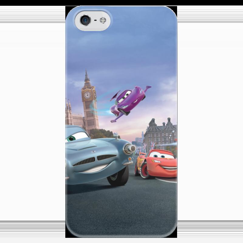 Чехол для iPhone 5 глянцевый, с полной запечаткой Printio Тачки чехол для iphone 5 глянцевый с полной запечаткой printio ember spirit dota 2