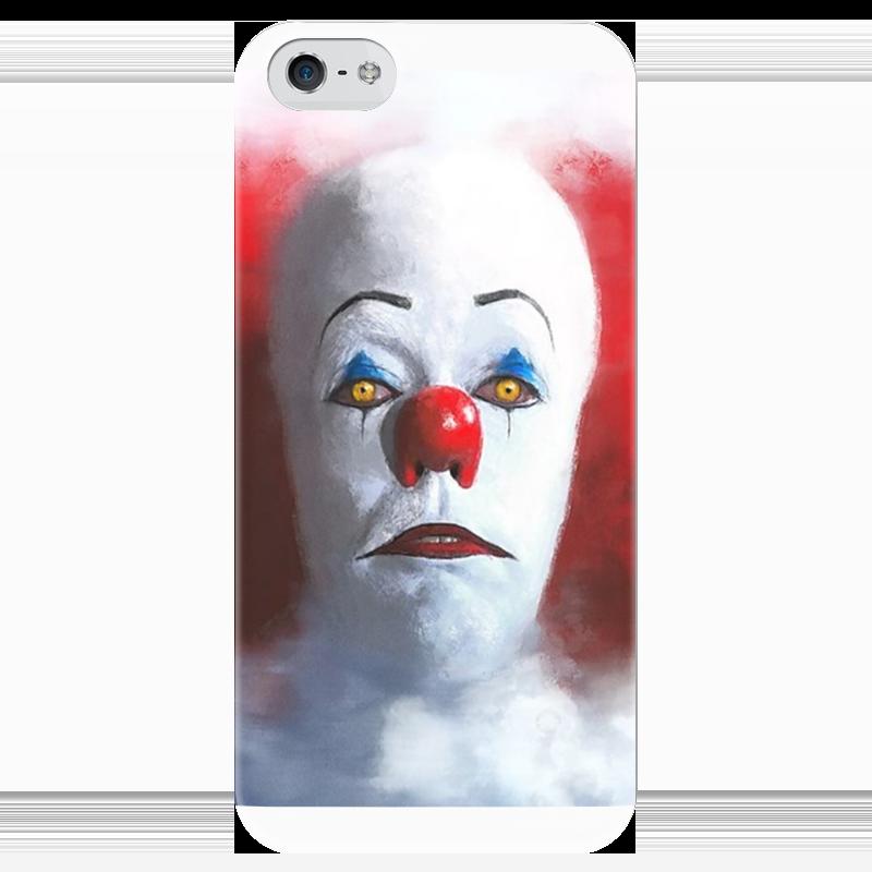 Чехол для iPhone 5 глянцевый, с полной запечаткой Printio It (оно) чехол для iphone 6 глянцевый printio babe it s cold outside