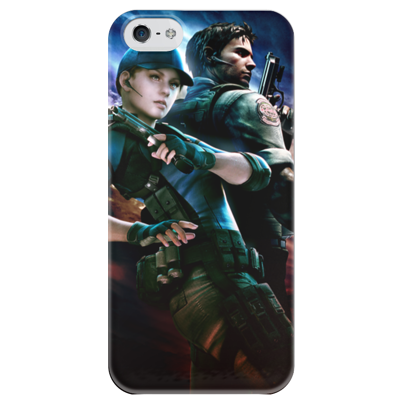 Чехол для iPhone 5 глянцевый, с полной запечаткой Printio Resident evil resident evil 5 русский язык sony playstation 4 ролевая боевик