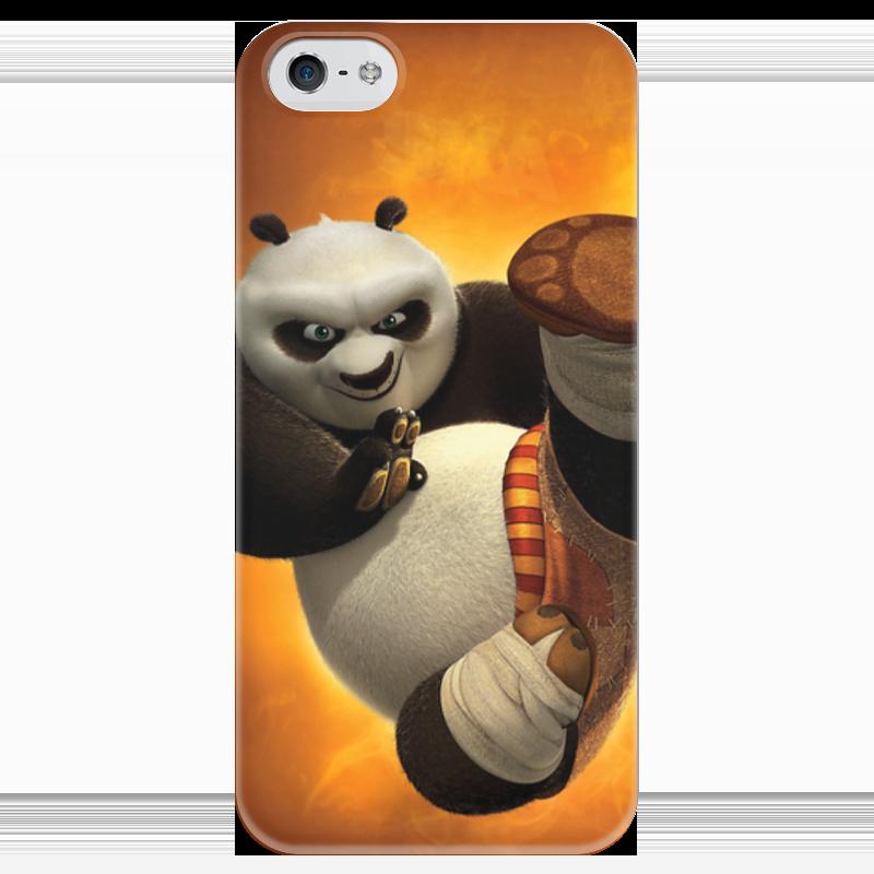 Чехол для iPhone 5 глянцевый, с полной запечаткой Printio Кунг-фу панда unice кунг фу панда