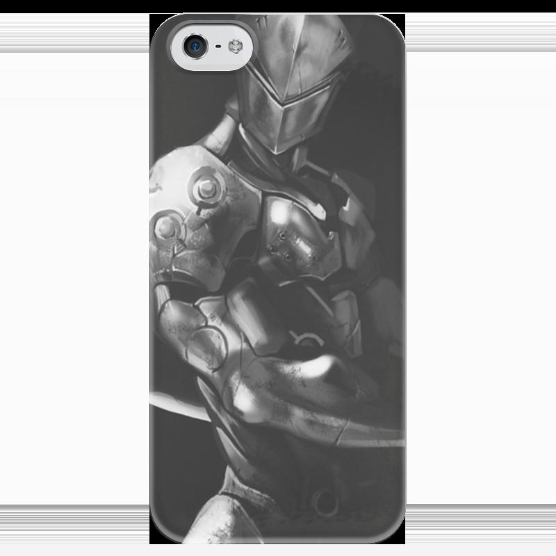 Чехол для iPhone 5 глянцевый, с полной запечаткой Printio Гэндзи чехол для iphone 5 глянцевый с полной запечаткой printio цикличность