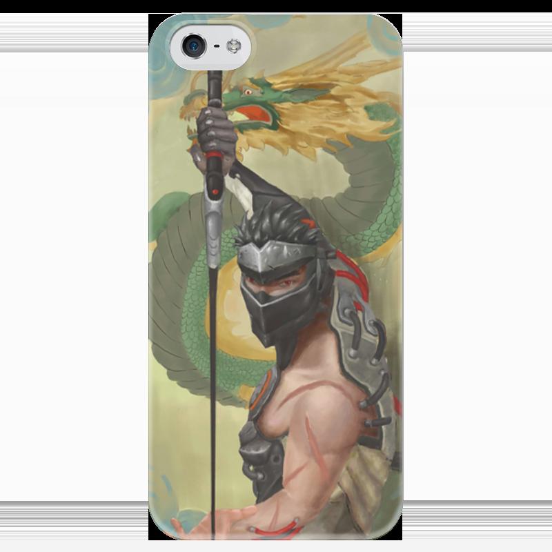 купить Чехол для iPhone 5 глянцевый, с полной запечаткой Printio Гэндзи по цене 980 рублей