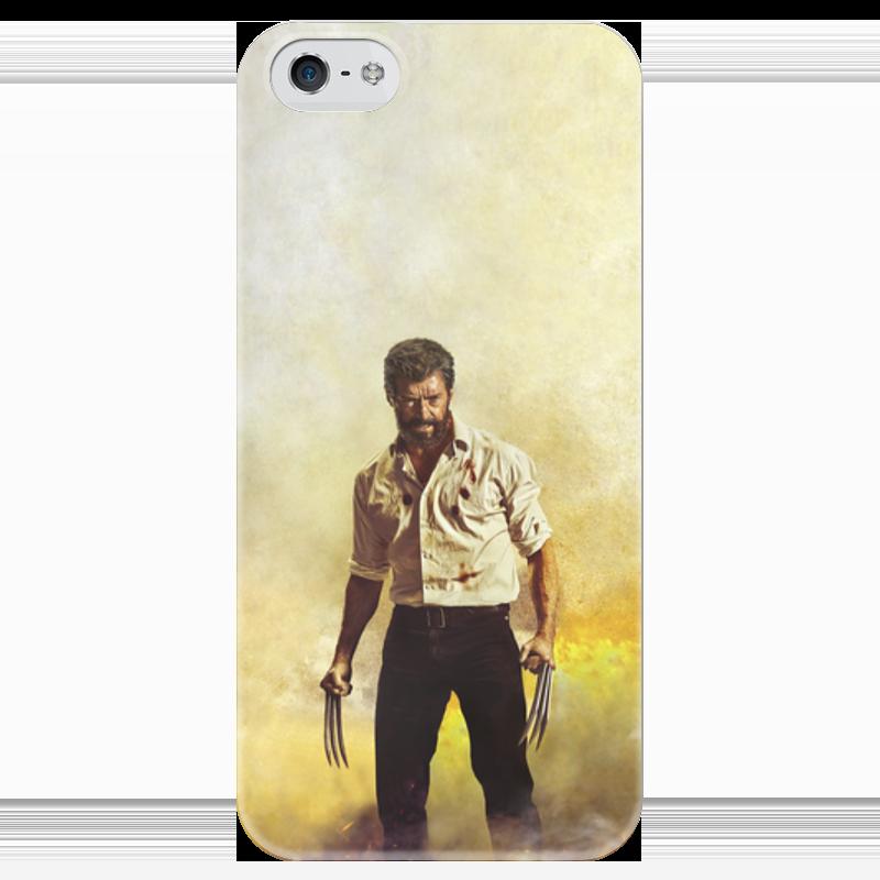 Чехол для iPhone 5 глянцевый, с полной запечаткой Printio Логан чехол для iphone 5 глянцевый с полной запечаткой printio ember spirit dota 2