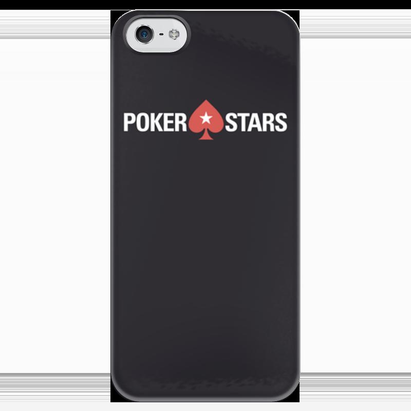 Чехол для iPhone 5 глянцевый, с полной запечаткой Printio Pokerstars чехол для iphone 4 глянцевый с полной запечаткой printio бэтмен