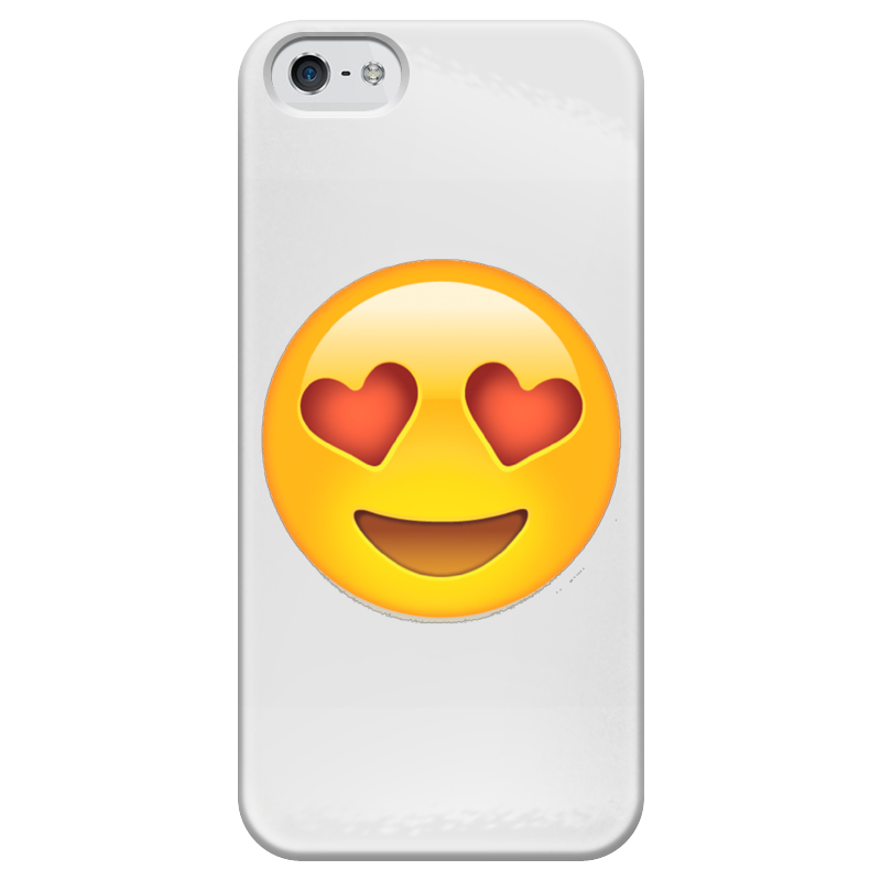 Чехол для iPhone 5 глянцевый, с полной запечаткой Printio Сма́йлик чехол для iphone 5 глянцевый с полной запечаткой printio ember spirit dota 2