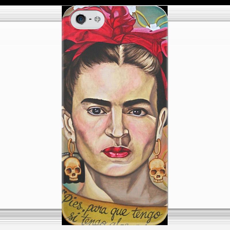 Чехол для iPhone 5 глянцевый, с полной запечаткой Printio Frida kahlo gerry souter kahlo