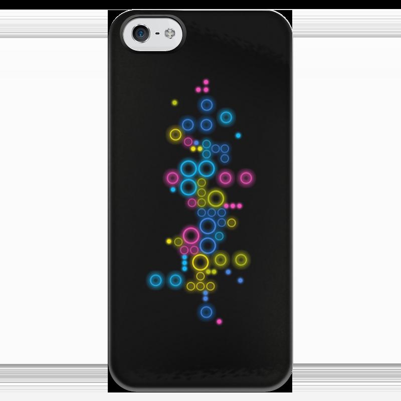 Чехол для iPhone 5 глянцевый, с полной запечаткой Printio Психоделика 2 чехол для iphone 5 глянцевый с полной запечаткой printio ember spirit dota 2