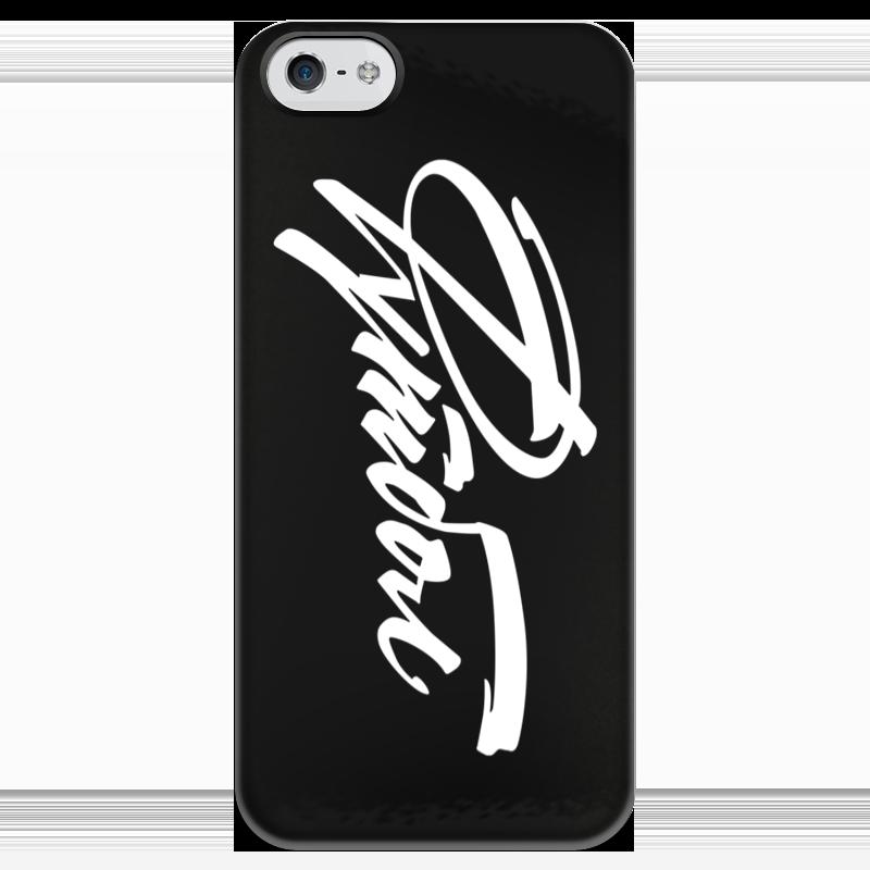 купить Чехол для iPhone 5 глянцевый, с полной запечаткой Printio Футбол по цене 980 рублей