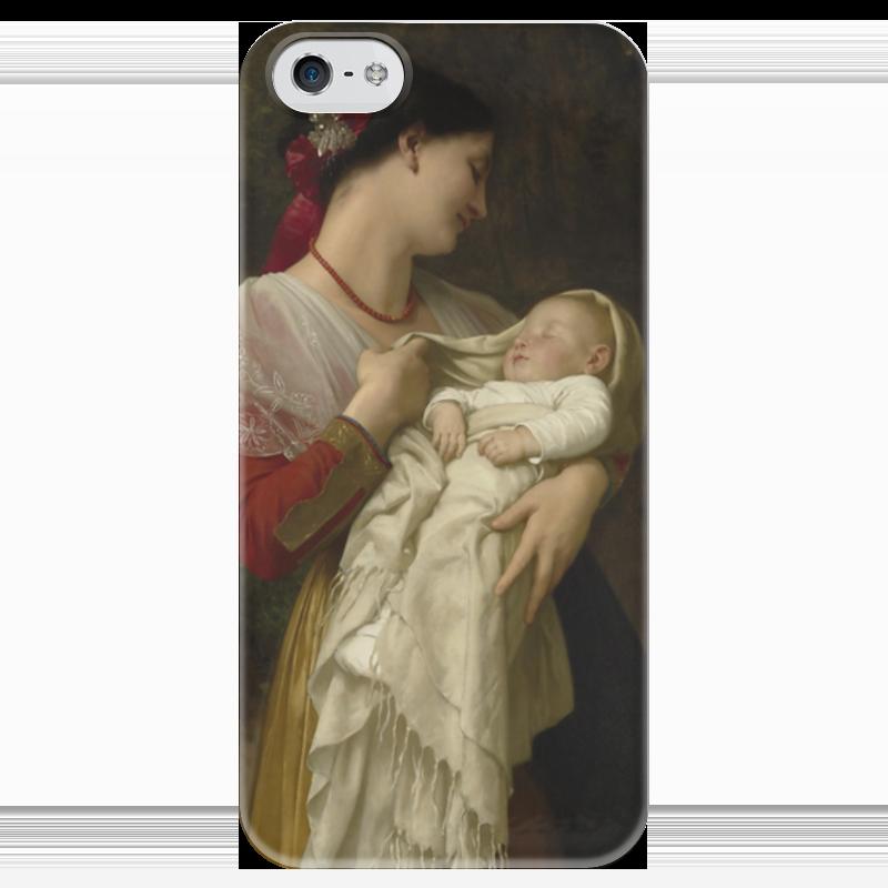 Чехол для iPhone 5 глянцевый, с полной запечаткой Printio Материнское счастье (maternal admiration) maternal mortality page 7
