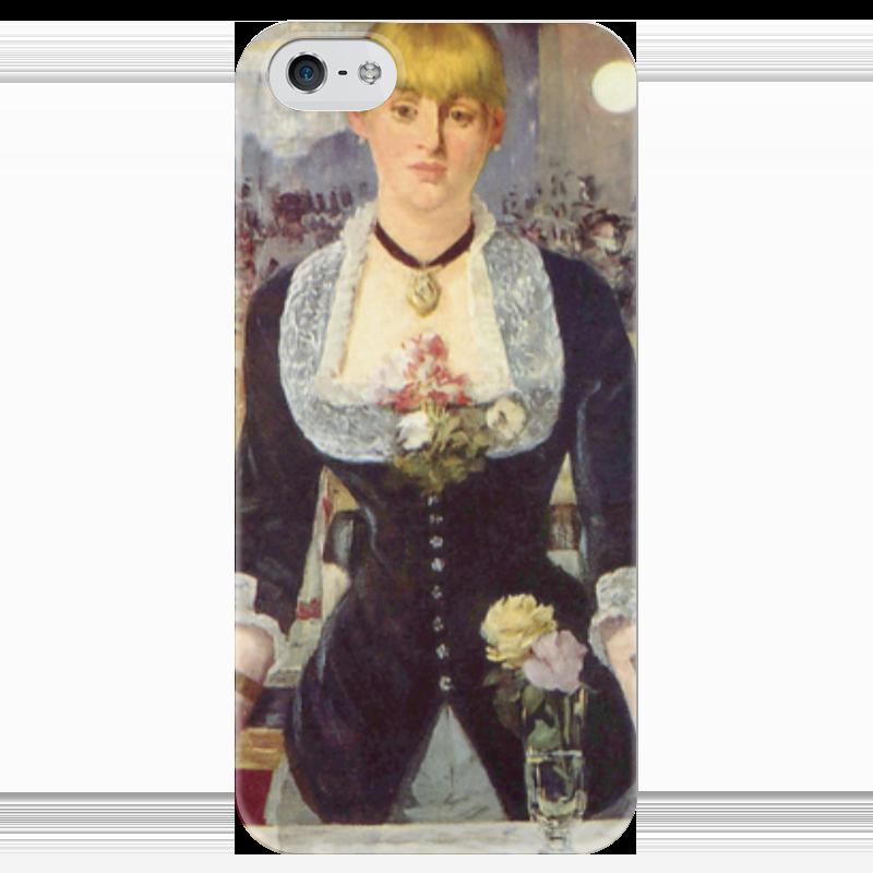 Чехол для iPhone 5 глянцевый, с полной запечаткой Printio Бар в «фоли-бержер» (картина эдуарда мане) фоли р как открыть бар для чайников