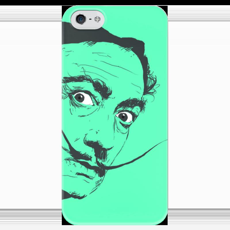 Чехол для iPhone 5 глянцевый, с полной запечаткой Printio Сальвадор дали купить в минске айфон 4 с