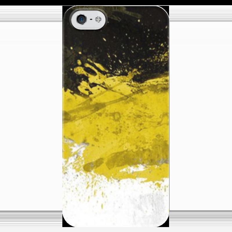 Чехол для iPhone 5 глянцевый, с полной запечаткой Printio Флаг имперский чехол для iphone 5 глянцевый с полной запечаткой printio флаг пророка жан леон жером